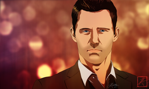 Michael Westen - Vid Included by InvisibleRainArt