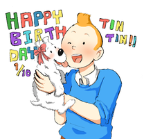 happy birthday TINTIN!!! by Chi-van