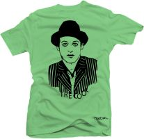 tre cool - t shirt design by cesterical