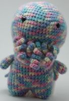 Pastel Rainbow Cthulhu by CaptainDammit