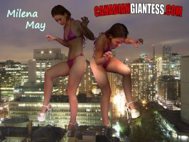 Giantess Milena May by GiantessFantasy
