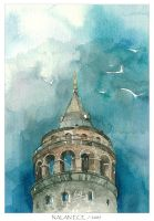 Galata Tower by nalanece