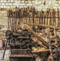 Kiln tools in Stoke-on-Trent by jennystokes
