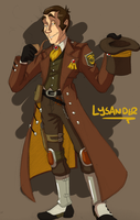 Character Design: Lysander by forte-girl7