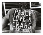 Peace, Love and Crabs by Maga-y-bailar