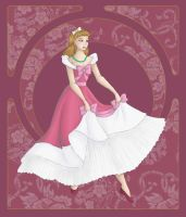 Pretty in Pink: Cinderella by Nelsynoo