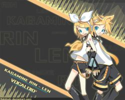 Rin and Len by Pewdiehetalialuver