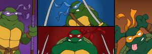 TMNT Cover 1 by horskraz