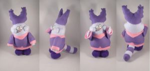 Chowder plush commission by pandari