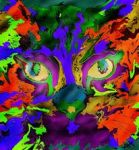 Abstract cat by abbi34