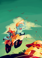 Smurfs: Delivery and Jokey by student-yuuto