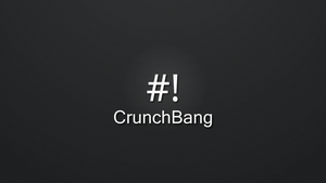 CrunchBang Dark Full HD Wallpaper by seloflash