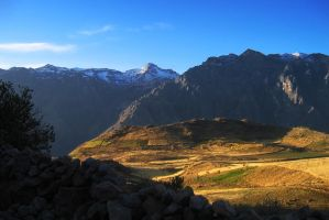 Andes Sunset by FalconNL