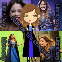 Dolls De Tini Stoessel (Libre soy) by ILoveBeautiful