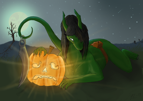Want me to carve you a bit more? by EriciusLux