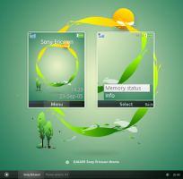 GAIA09 Sony Ericsson Theme by reb70