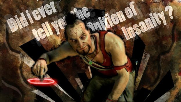 Wallpaper Far Cry 3 Vaas by spartansniper619