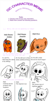 Character Meme (Ask) by CardinalCompanion