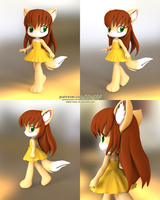 Audrey - Little Tails by bbmbbf