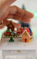 1:12 scale Christmas Themed Miniature by Almadejonge