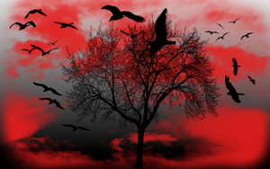 bloodlight sky by angel-chickxx