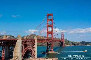 The Golden Gate 2 by cupplesey
