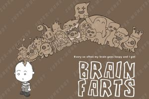 AS a kid - Brain farts by happymonkeyshoes