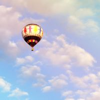 Hot Air Balloon by brandimillerart