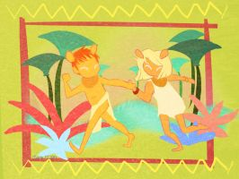 Simba and Nala by rachitick