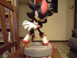 Shadow Statue. Front View. by lizardman22