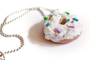 Donut Necklace by MariaKoch
