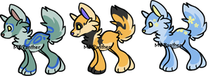 Puppy Adoptables -Updated- by MBPanther