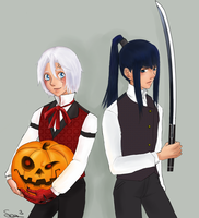 D.Grayman-Halloween by Presea