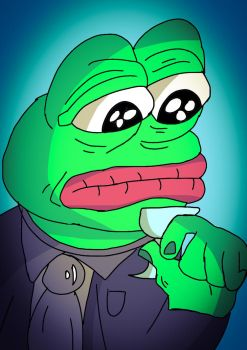 Pepe The Frog. {Plz Read Desc! X3} by 21WolfieProductions