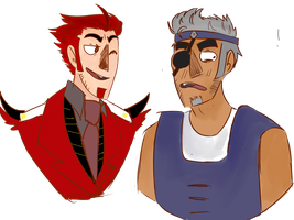 Knockout and Breakdown humanformers by Ricktoria