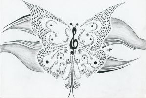Musical Butterfly 2 by melloteddy