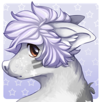 Grey Mini Headshot by Gelidwolf