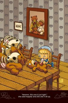 Goldilocks and the three bears by Sheharzad-Arshad