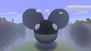 Minecraft - Deadmau5 Head by Ludolik