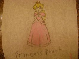 Princess Peach by RarityLuver214