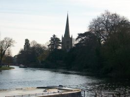 View from the River Avon by AetheriumDreams