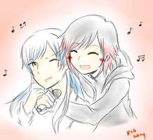 Come sing with me Weiss by criselaine