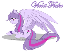 PT - Violet Flake by Shadow-of-Destiny