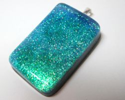 Green+Blue+Multicolor Pendant by ExperienceDesigns