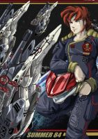MACROSS ACES HIGH by dagova