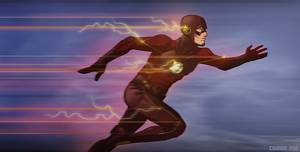 The Flash by pungang