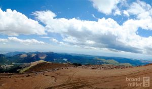 On Top of Pike's Peak by brandimillerart