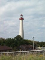 Cape May Lighthouse stock2 by Stock-Tenchigirl15