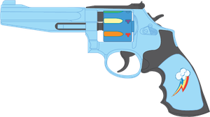 Rainbow Dash's SW M986 by Stu-artMcmoy17