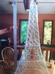 Eiffel Tower of Paperclips by AMT-MoreMoreMore